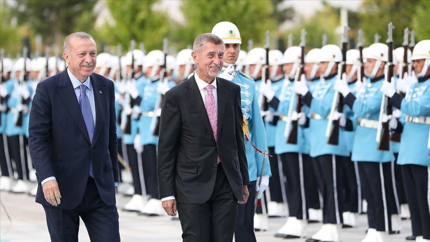 Çekya Başbakanı Andrej Babis Ankara'da