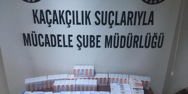 'Ankara'da KAÇAK İLAÇ Operasyonu'