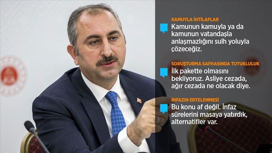 Adalet Bakanı Gül: Yargı reformu Türk milletinin yargı reform belgesidir
