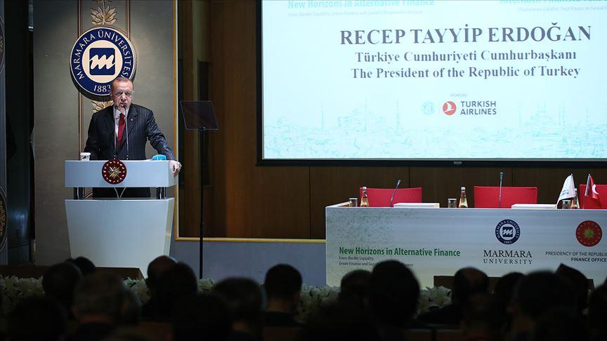 Cumhurbaşkanı Erdoğan: Alternatif finans konusunda daha cesur ve kararlı adımlar atacağız