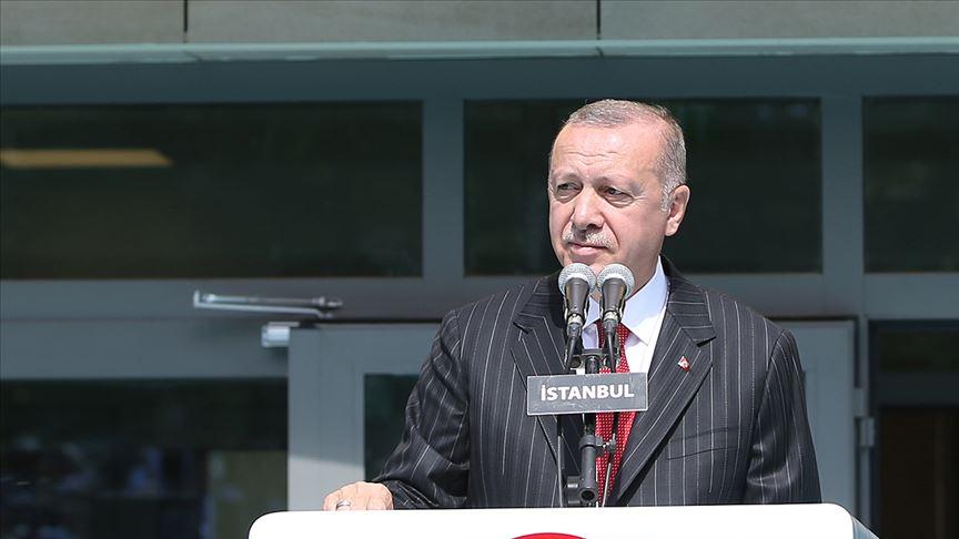 Erdoğan: Ders müfredatlarını objektif bir anlayışla yeni baştan hazırladık