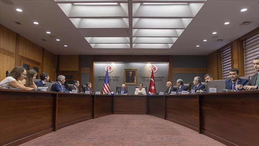 Pekcan: ABD ile öncelikli sektörleri belirledik!