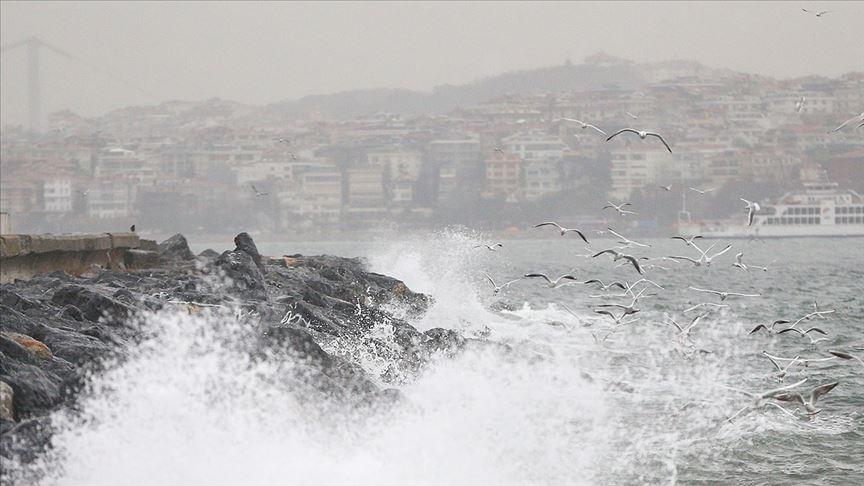 İstanbul'a fırtına uyarısı yapıldı