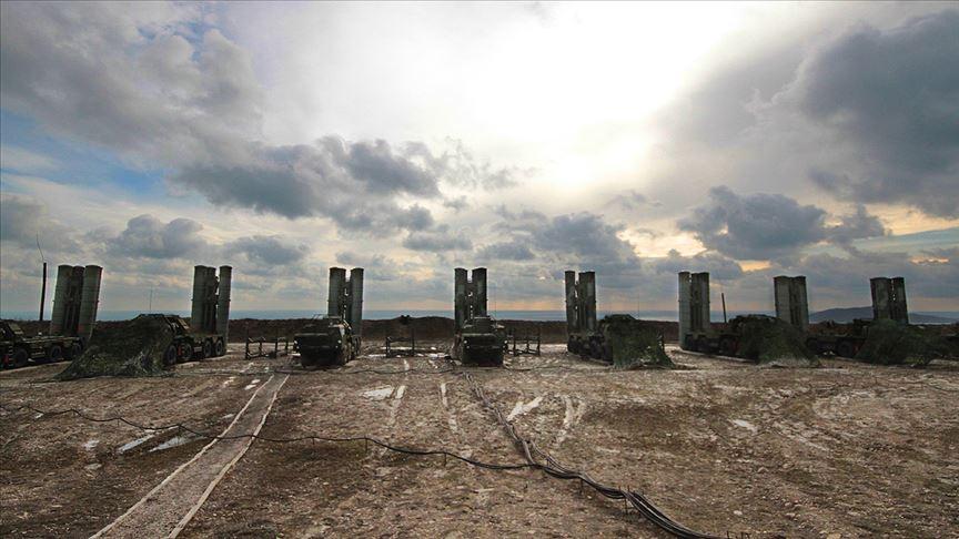 S-400 sisteminin ikinci bataryalarının intikali tamamlandı