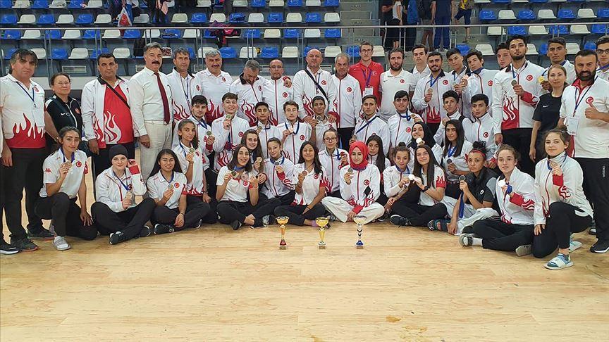 Türkiye'den tekvandoda 31 madalya