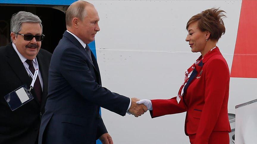 Rusya Devlet Başkanı Putin Ankara'da..