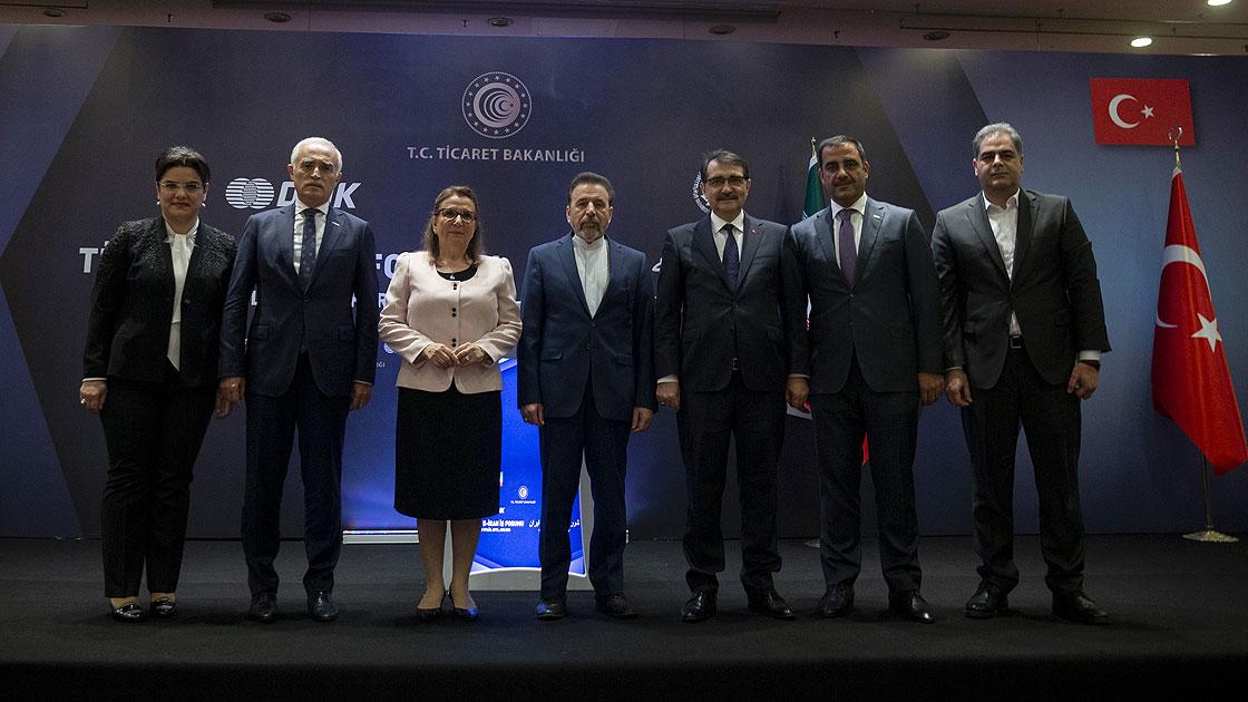 Pekcan: Türkiye-İran ilişkileri iş dünyasının önünü açıcı bir yön alıyor