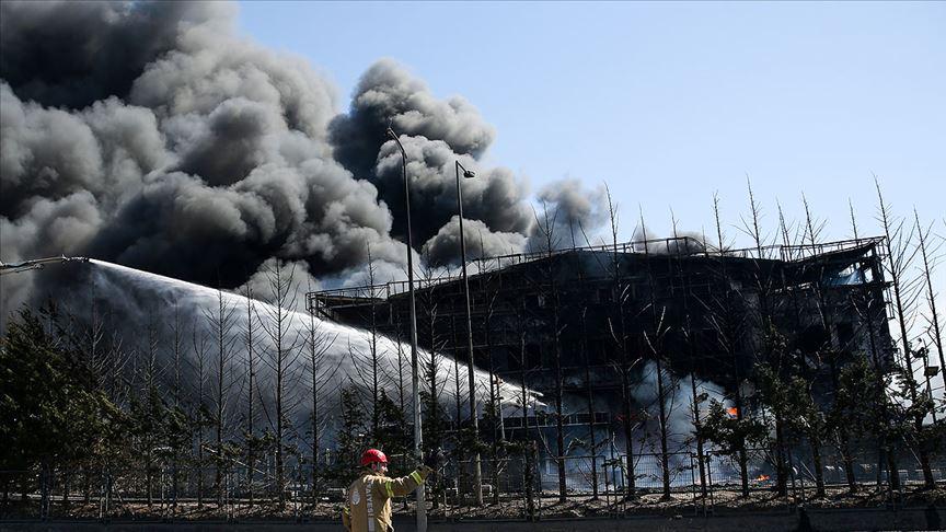 AFAD'tan Tuzla'daki yangınla ilgili açıklama