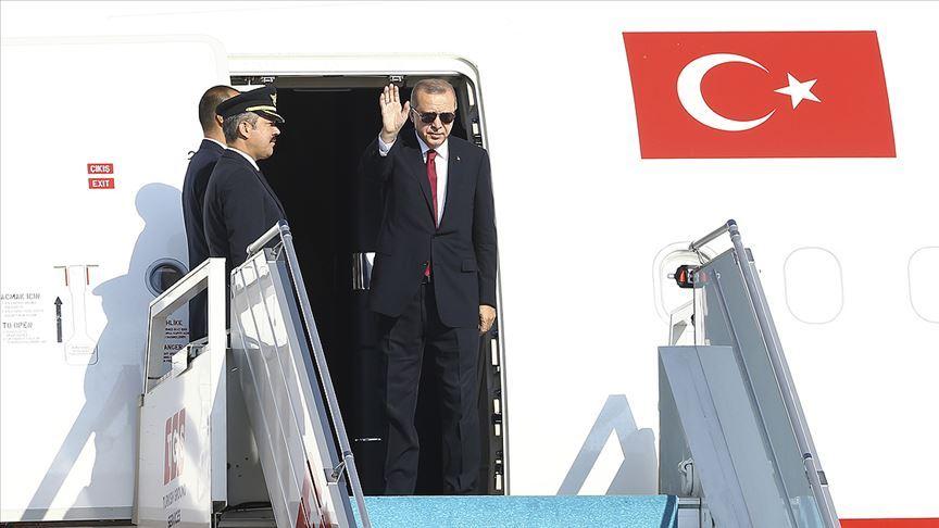 Cumhurbaşkanı Erdoğan ABD'ye gidiyor..