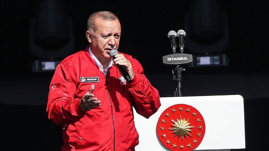 Cumhurbaşkanı Erdoğan: Teknolojik dönüşüm sürecinde yeni teknolojilerin üreticisi olmak istiyoruz
