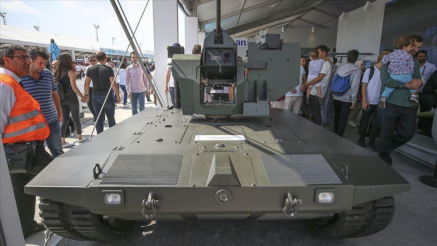 İnsansız atış platformu 'mini tanka' dönüştü