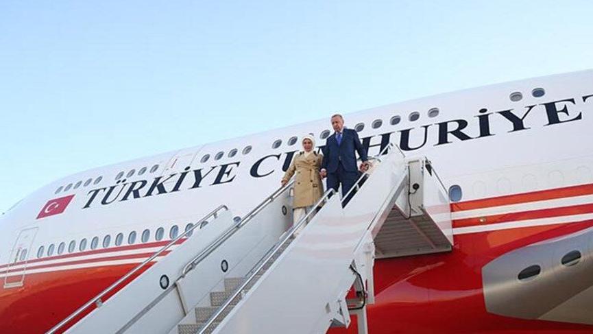 Cumhurbaşkanı Erdoğan ABD'de...