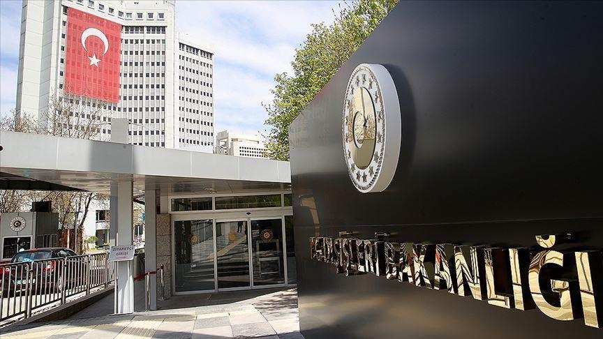 Dışişleri Bakanlığı: Türkiye, Fırat'ın doğusunda güvenli bölgeyi hayata geçirmekte kararlıdır