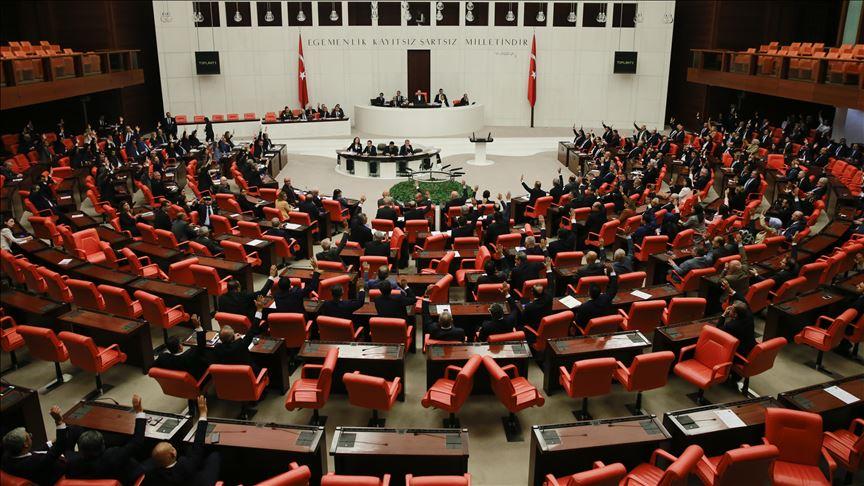 Suriye ve Irak tezkeresi TBMM Genel Kurulu'nda kabul edildi