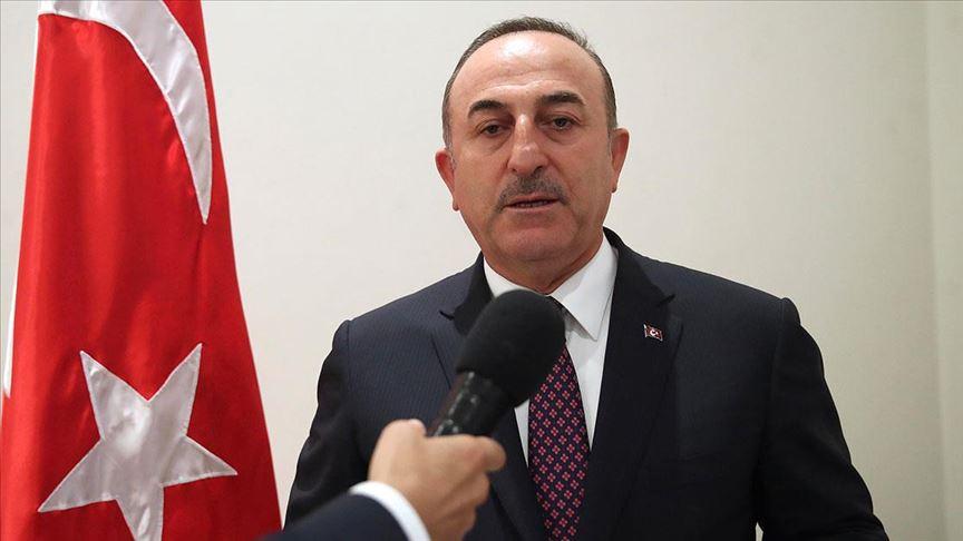Çavuşoğlu: Barış Pınarı Harekatı uluslararası hukuktan kaynaklanan hakkımızdır