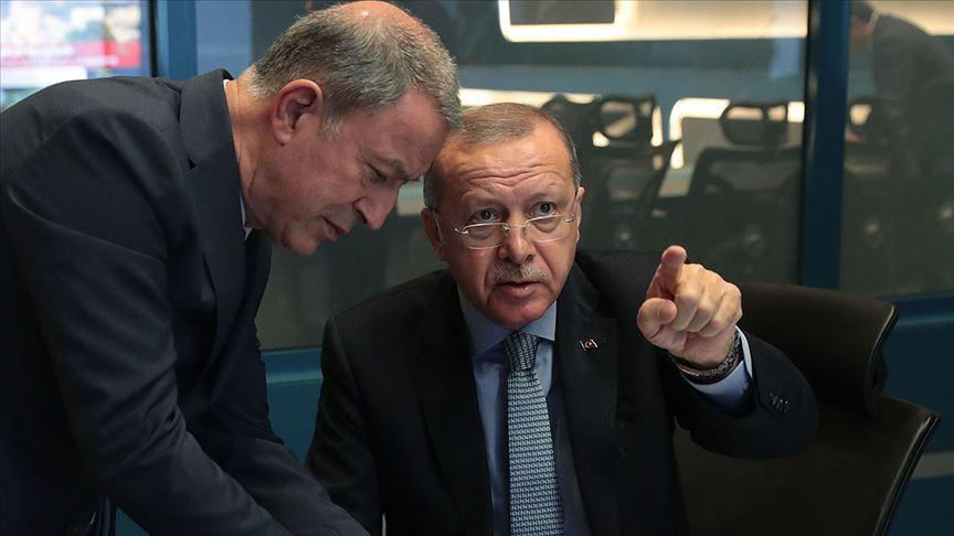 Barış Pınarı Harekatı Koordinasyon Toplantısı yapıldı