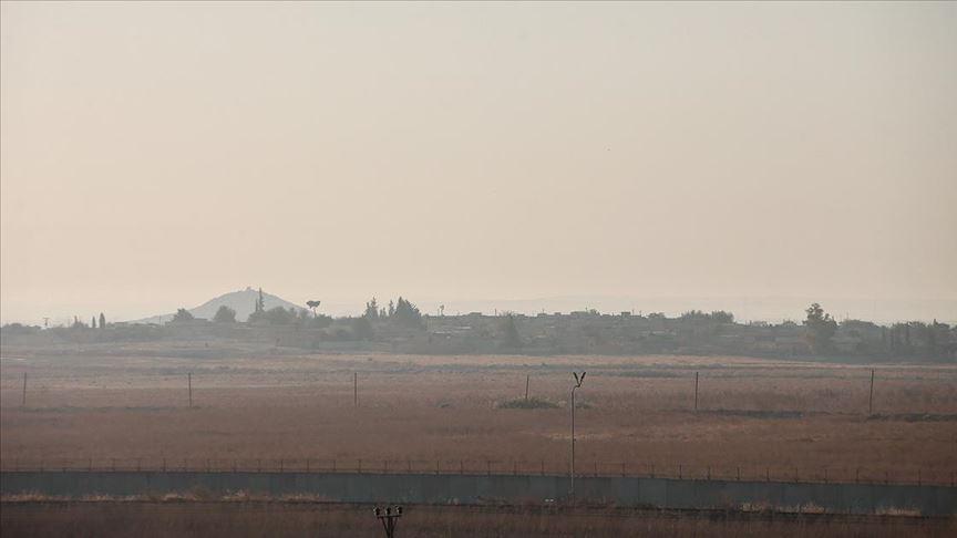 Barış Pınarı Harekatı kapsamında vurulan Tel Abyad'da sessizlik hakim