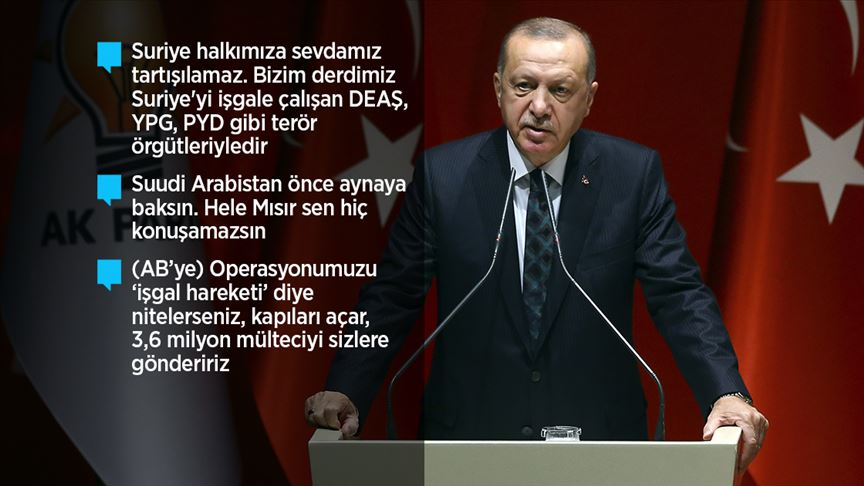 'Barış Pınarı Harekatı'nda şimdiye kadar 109 terörist etkisiz hale getirildi'