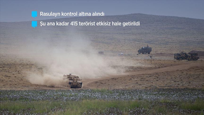 'Barış Pınarı Harekatı'nda 4. gün'