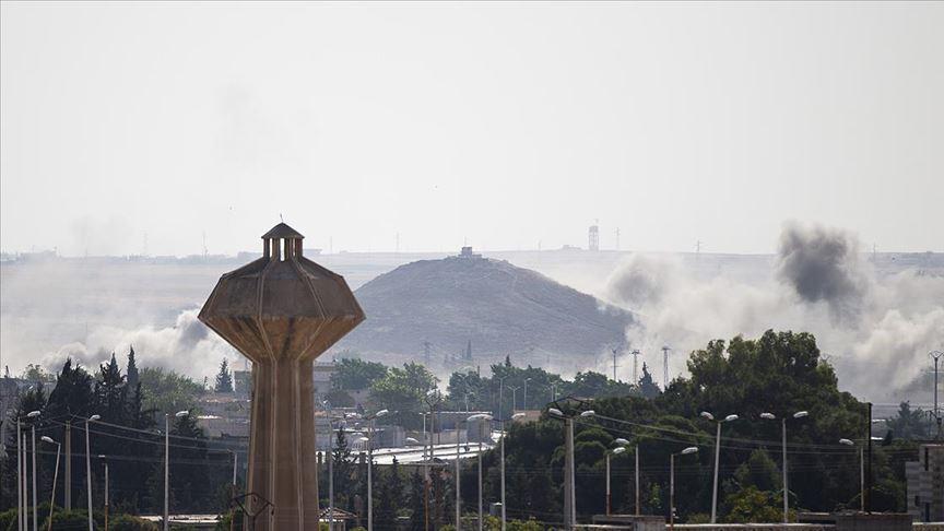 Tel Abyad'ın batısı teröristlerden kurtarıldı!