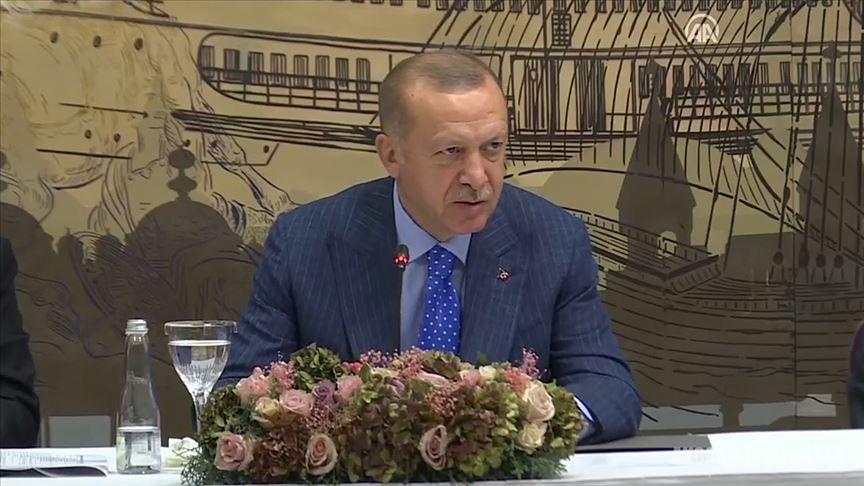 Cumhurbaşkanı Erdoğan: Suriye'nin kuzeyinde terör devletinin kurulmasına müsaade etmeyeceğiz