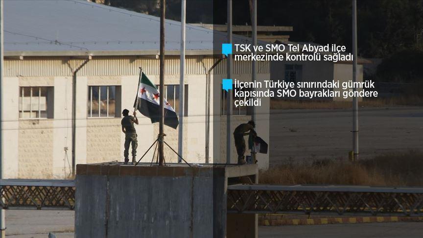 Tel Abyad teröristlerden kurtarıldı!