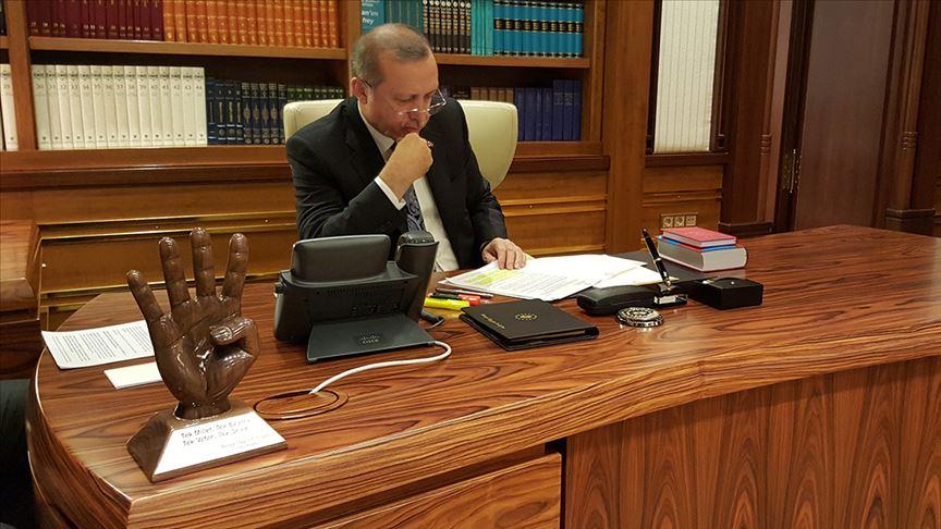 Cumhurbaşkanı Erdoğan: AB ve dünya Türkiye'nin çalışmalarını desteklemeli