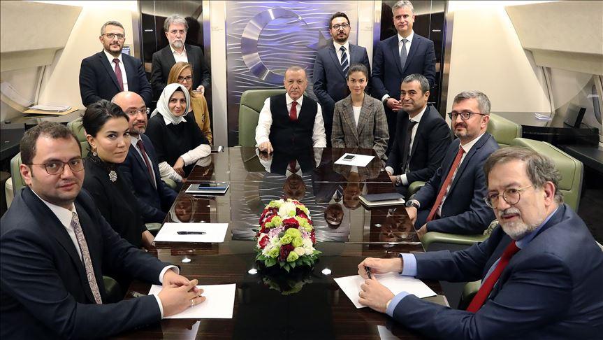 Erdoğan: Hedefimiz belli, herhangi bir yaptırım konusunda endişemiz yok