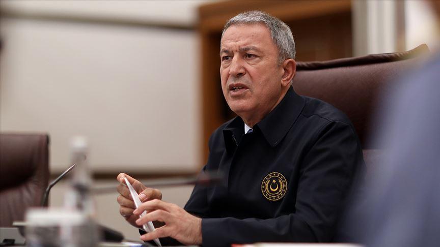 Milli Savunma Bakanı Akar: TSK'nın envanterinde kimyasal silah yok