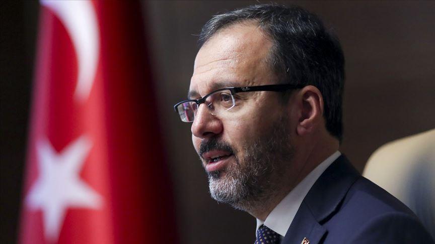 Kasapoğlu: Sporcularımızın selamı Mehmetçiğimizin gönlüne ulaşmıştır'