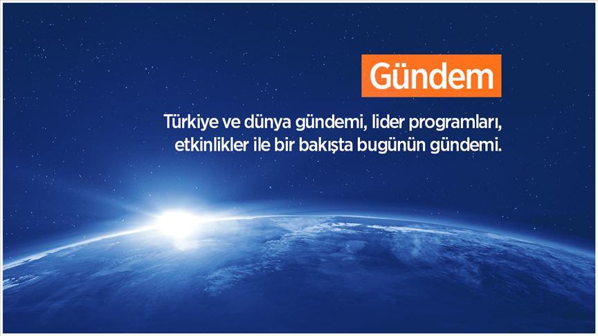 19-10-2019 / CUMARTESİ GÜNDEMİ