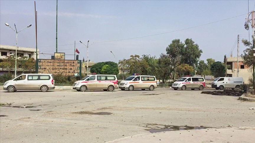 Milli Savunma Bakanlığı: 86 araçlık konvoy Rasulayn'dan çıkış yaptı