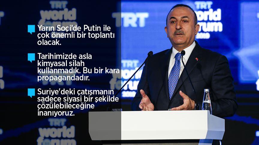Bakan Çavuşoğlu: Geri çekilmezlerse operasyon tekrar başlayacak!