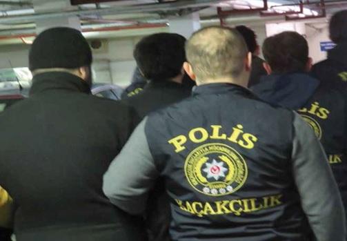 """""""İstanbul'da Kaçakçılık Operasyonu"""""""
