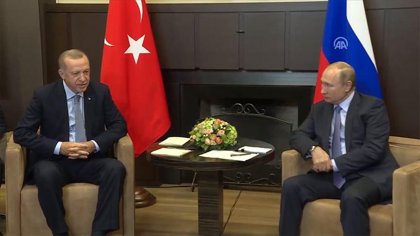 Cumhurbaşkanı Erdoğan - Putin görüşmesi başladı!