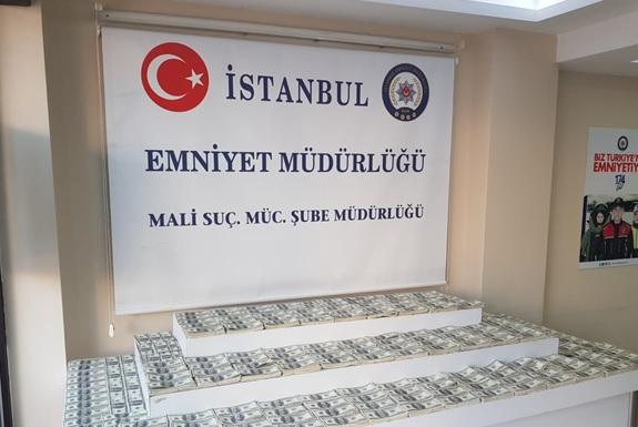 'İSTANBUL'DA SAHTE DOLAR OPERASYONU'