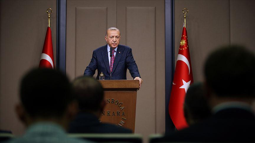 Erdoğan: UEFA'nın Milli Takımımıza ve kulüplerimize yönelik tavrını reddediyoruz