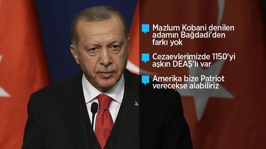 Cumhurbaşkanı Erdoğan: AB'nin son dönemde ülkemize karşı tutumu yapıcı olmaktan uzak
