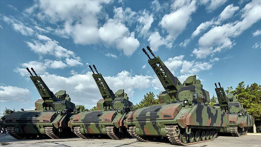 Türk Silahlı Kuvvetleri'ne 10 yeni Korkut teslimatı