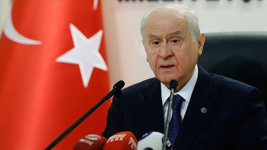 Bahçeli: Erdoğan'ın tarihi ziyaretini tartışmaya açmak Türkiye'ye haksızlıktır