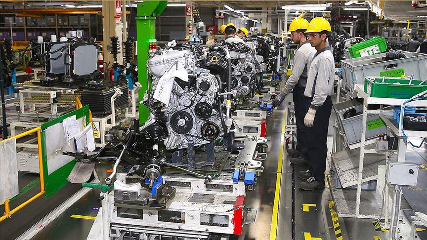Sanayi üretimi arttı!