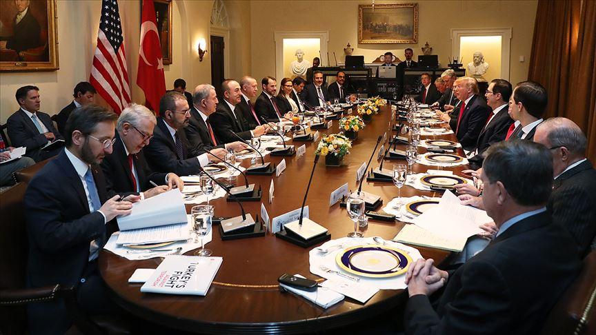Altun, Erdoğan'ın Trump'a ve senatörlere izlettiği videoyu paylaştı