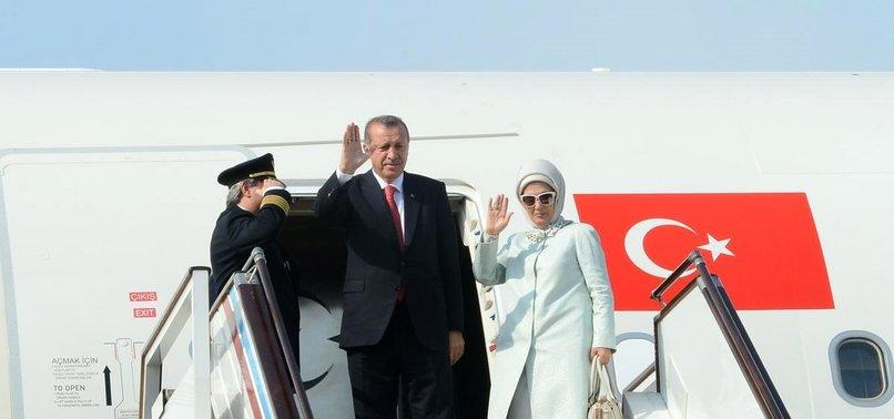 Erdoğan ABD'deki temaslarının ardından yurda döndü