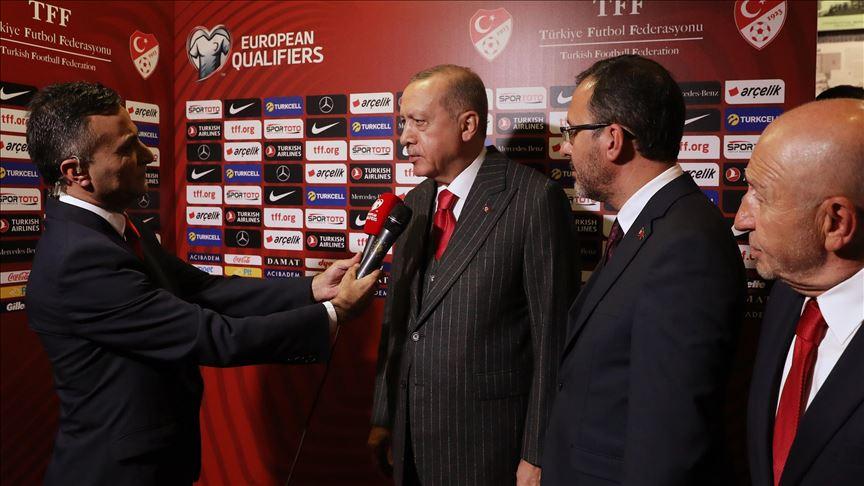 Cumhurbaşkanı Erdoğan: Milletimiz için hayırlı olsun