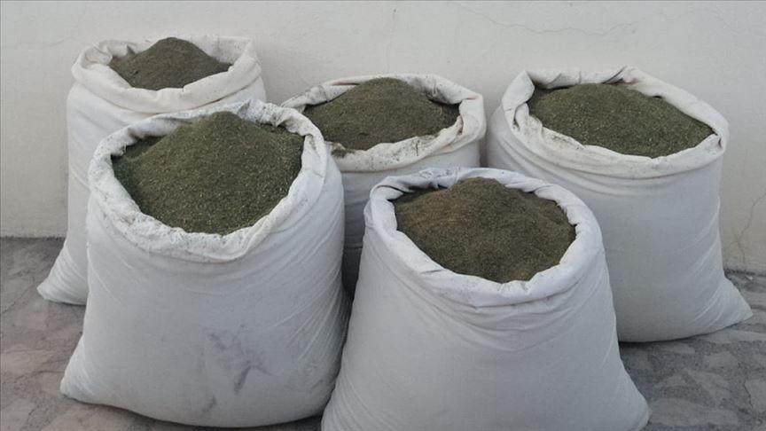 Diyarbakır'da 5 ton 38 kilogram esrar ele geçirildi
