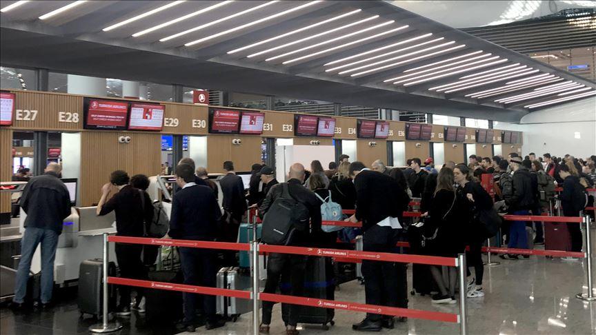 İstanbul Havalimanı'nda 'ara tatil' yoğunluğu