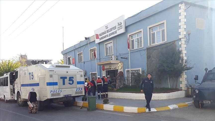 Suruç, Mazıdağı, Savur ve Derik belediye başkanlarının yerine görevlendirme