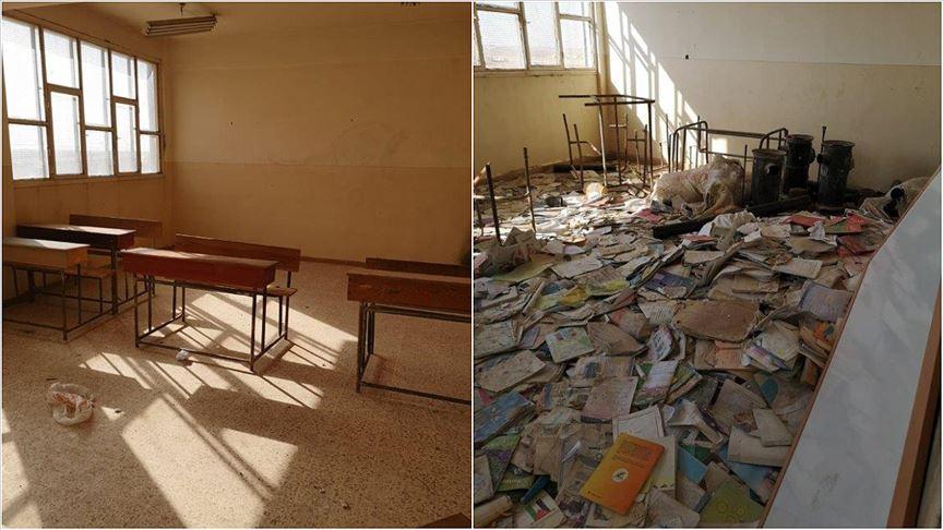 MSB: Terör örgütü Rasulayn'da okulu mevzi yaptı