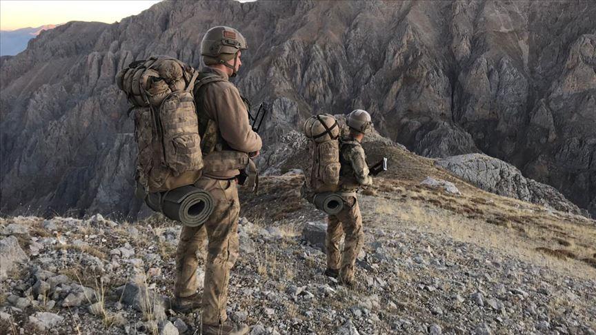 'Kıran-4' operasyonunda terör örgütünün kış üslenmesine ağır darbe