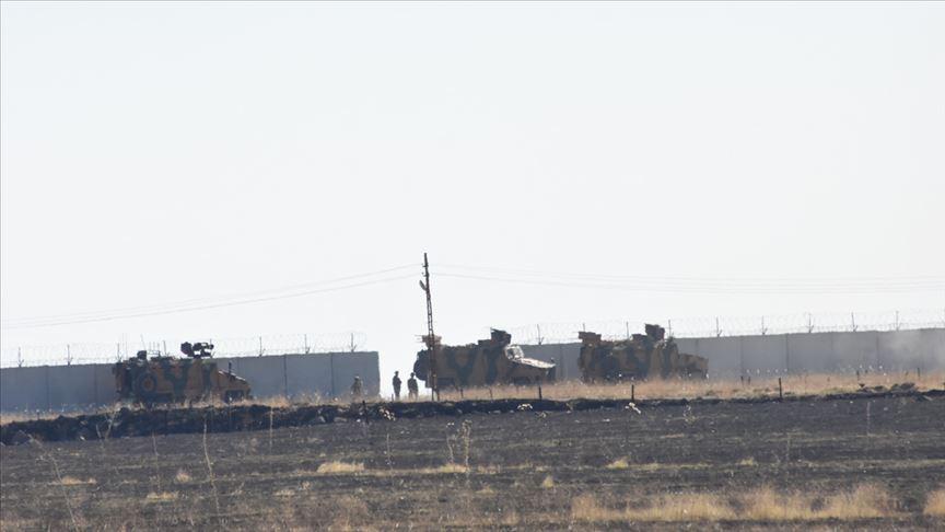 Türk ve Rus askerleri Fırat'ın doğusunda 10'uncu kara devriyesini tamamladı